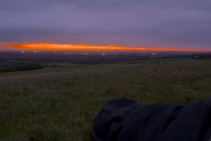 Uffington Castle sunrise