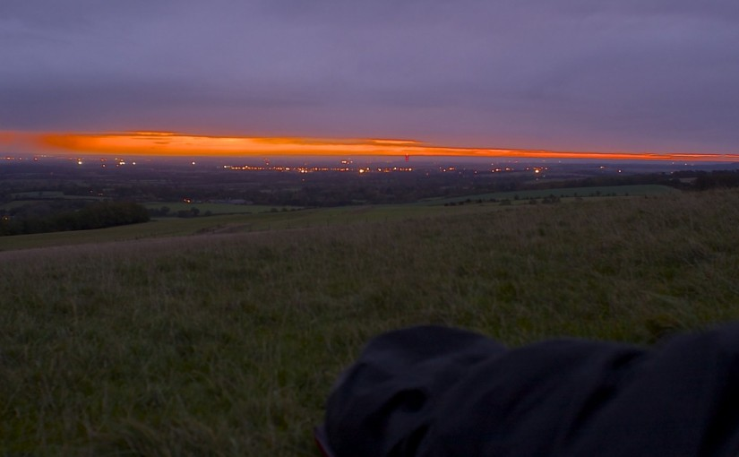 Microadventure #2: Sleep On A Hill In Oxfordshire