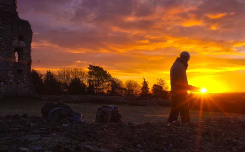Microadventure #5: Spectacular Sunrise at Donnington Castle