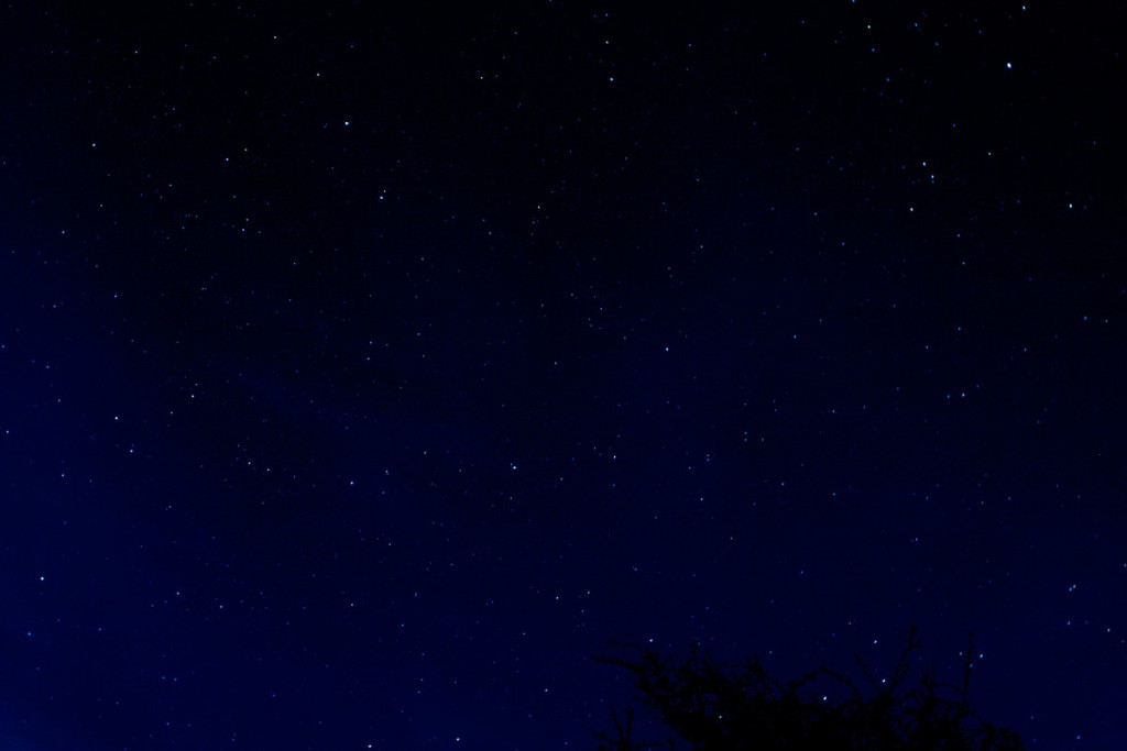 A sky full of Stars in Berkshire, shot from the Test Way