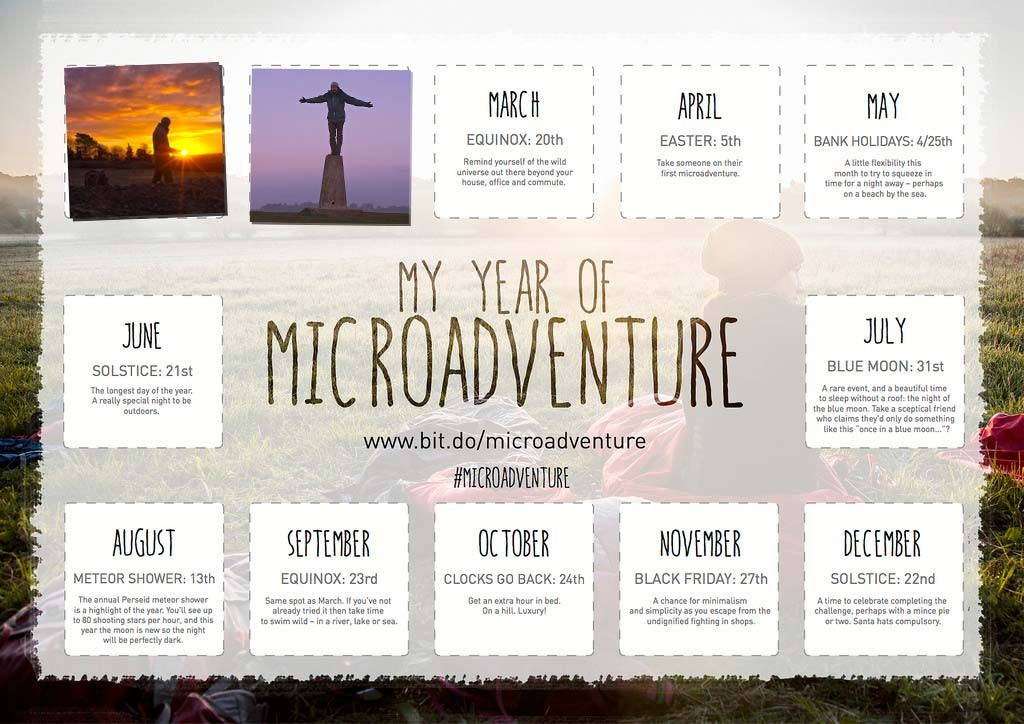 February, My Year of Microadventure - MYOM