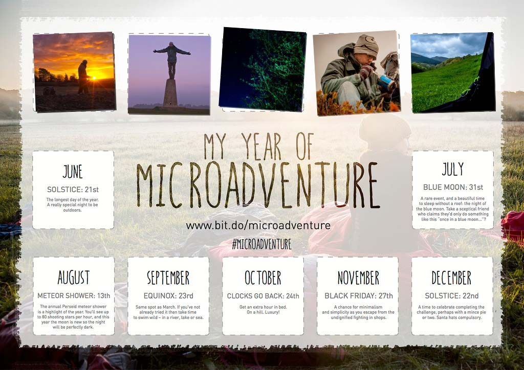 May, My Year of Microadventure - #YYOM