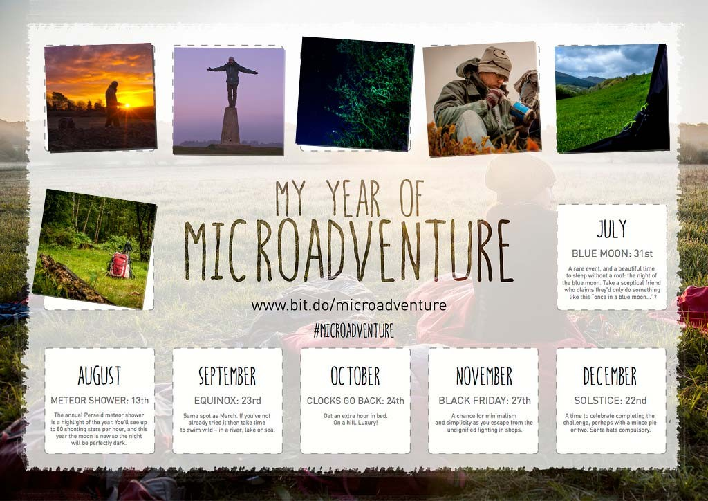 June, My Year of Microadventure - #YYOM